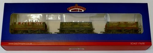 Triple pack 5 plank wagons