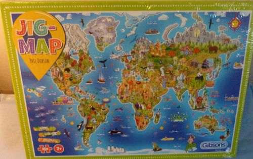 Jig-Map Our World 250 pieces
