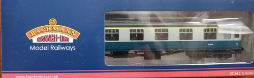 00 Gauge Coach BR FK Blue & Grey